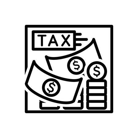 Icon for tax,taxation