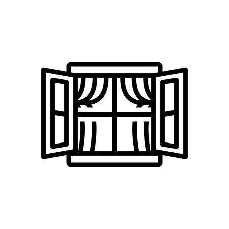 Icono de ventana, tragaluz