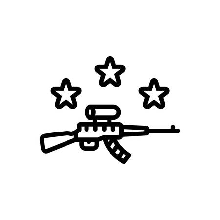 Icon for gun,musket