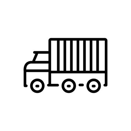 Icon for logistics,export
