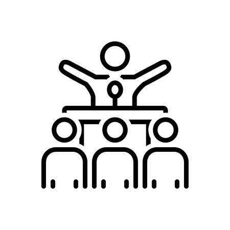 Icon for campaigning,voting