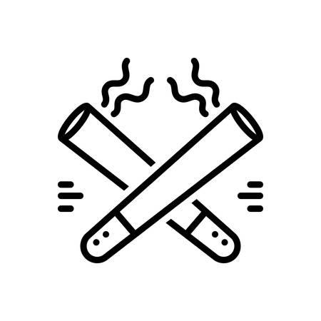 Icon for cigars,cheroot Foto de archivo - 129461961