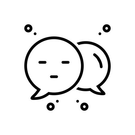 Icon for commenter,feedback Ilustrace