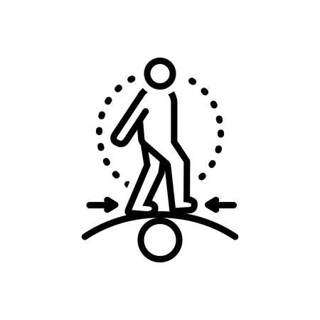 Icon for competence,capacity Ilustração