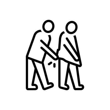 Icon for degenerate,retrograde