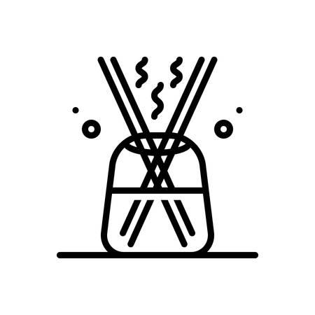 Icon for diffuser,extender Ilustração