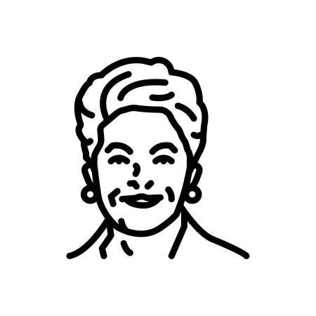 Icon for dilma,brazilian