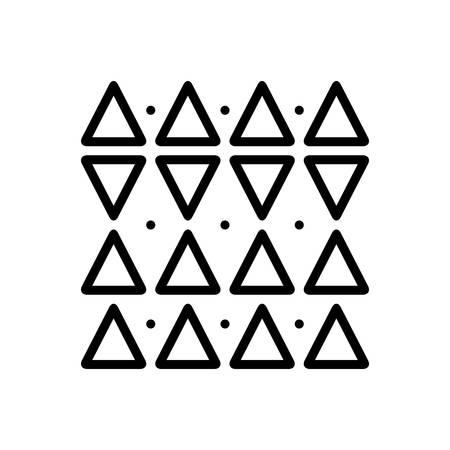 Icon for discrepancies,shape Ilustração