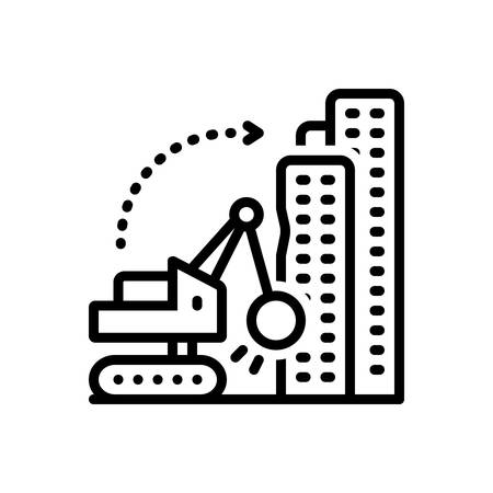 Icon for dismantling,building