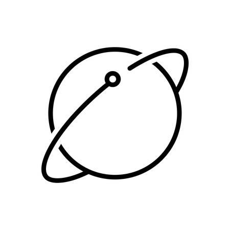 Icône pour le lien terrestre, la terre