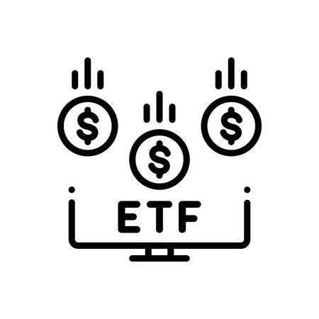 Icon for etf,economic