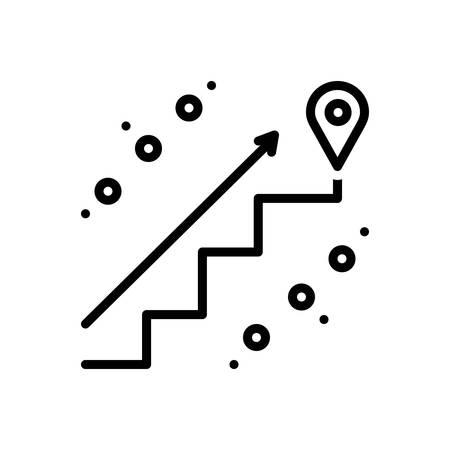 Icon for endpoints,pointer Ilustração