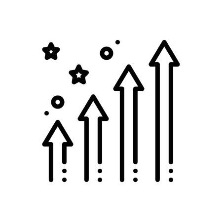 Icon for enhancing,increase 向量圖像