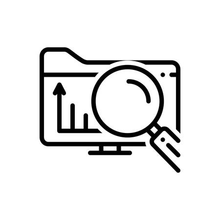 Icon for exploratory,explorative Çizim