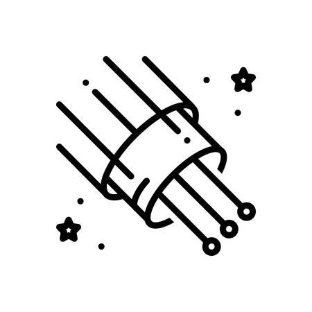 Icon for fiberoptic,cable
