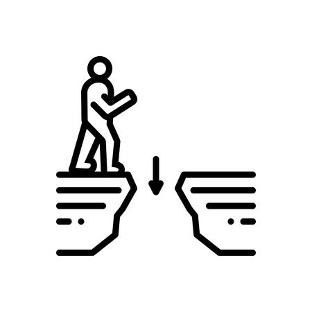 Icon for gaps,interval