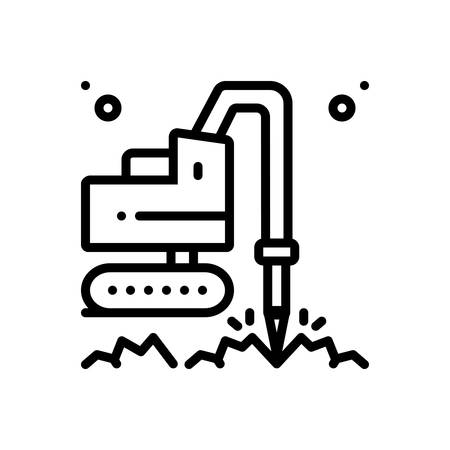 Icon for geotechnic,geotechnical