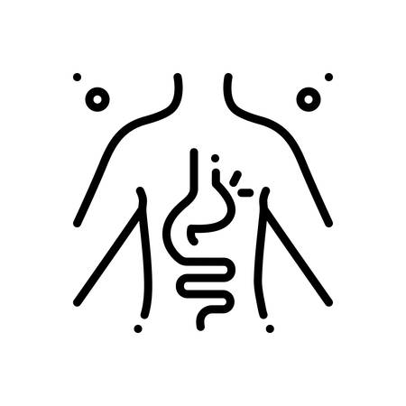Icon for hernia,inguinal  イラスト・ベクター素材