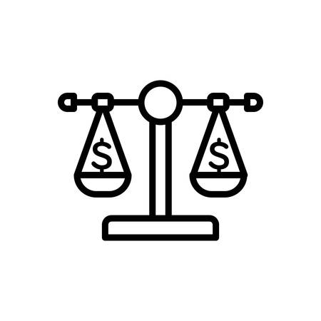 Icon for balance,scale