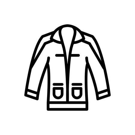 Icon for clothing,dress Illustration