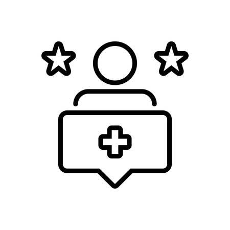 Icon for follow,user Ilustracja