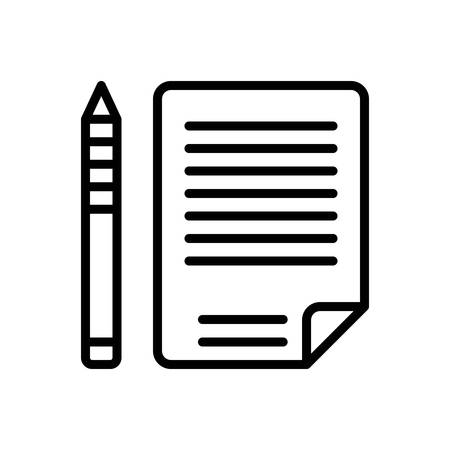 Icon for script,words