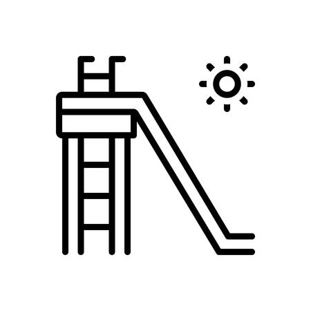 Icon for slide,glide Illustration