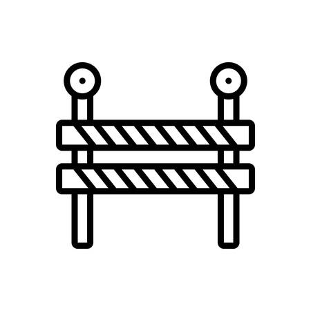 Icon for impediment,obstacle