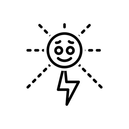 Icon for energy,strength 일러스트