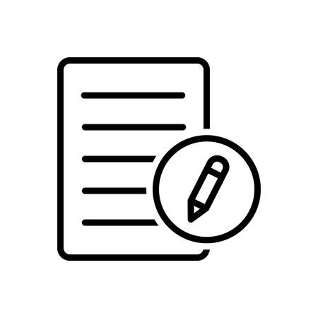 Icon for registration,registry Ilustrace