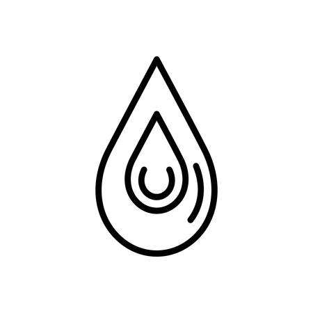Icon for drop,blob