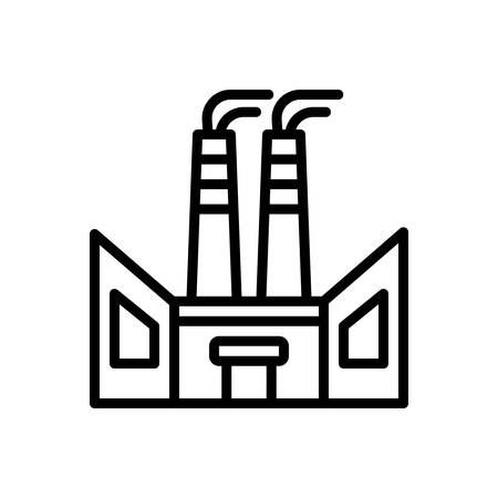Icon for factory,industry