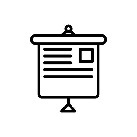 Icon for presentation,display