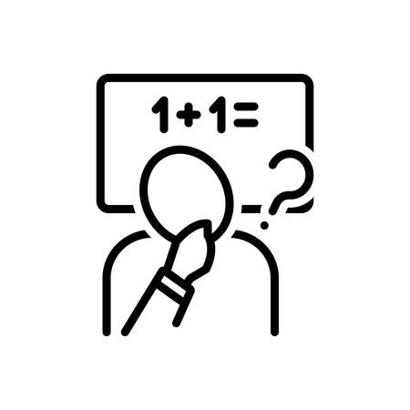 Icon for inference,guess