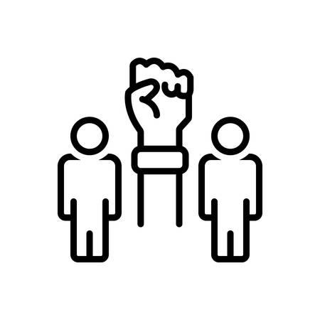Icon for initiatives,will power Foto de archivo - 130520154