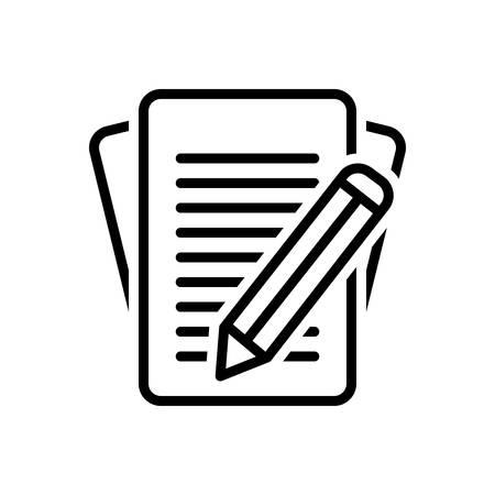 Icon for inscribe,write