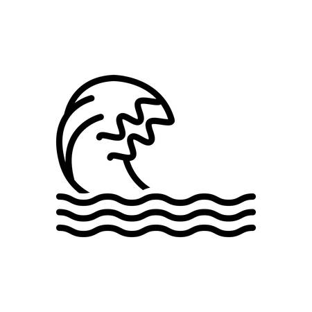 Icon for wave,ripple