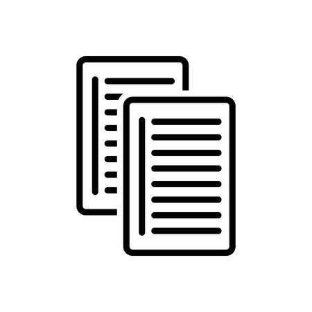 Icon for paper,document