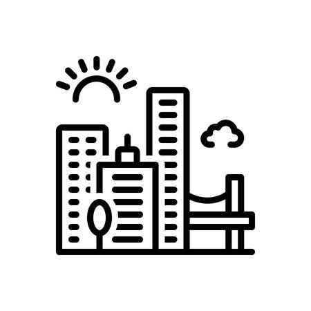 Icon for jacksonville,skyline