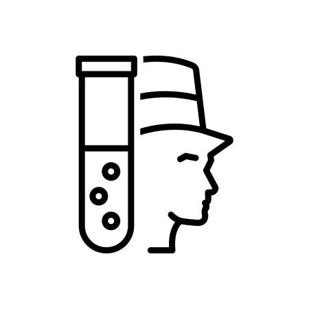 Icon for jekyll,blog aware Illustration