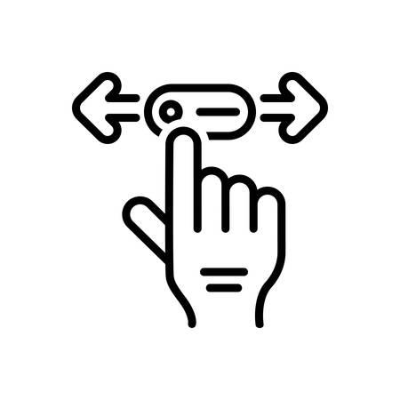 Icon for move,gait