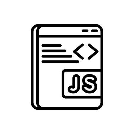 Icon for javascript ,programming