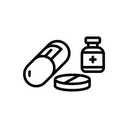 Icon for medicine, drug