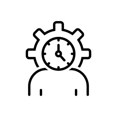 Icon for lifespan,clock