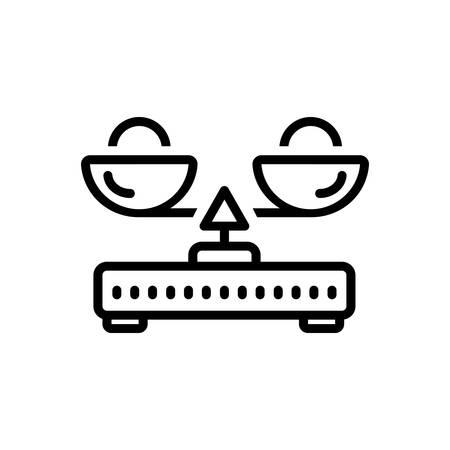 Icon for load balance,measurement