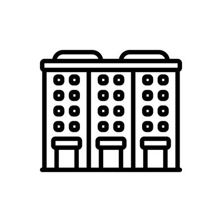 Icon for apartment,accommodations