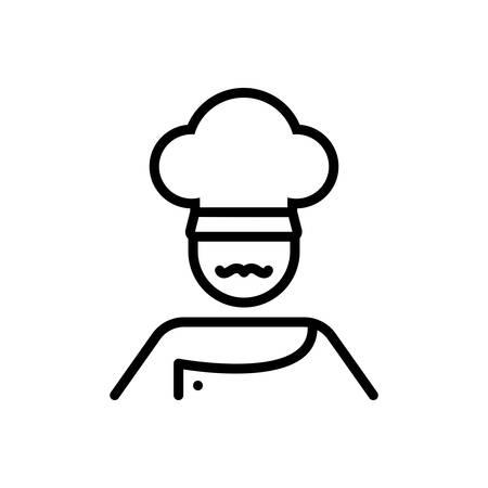 Icon for cook,masterchief Illustration