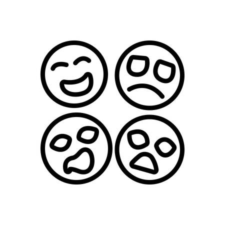 Icon for emotion,feeling