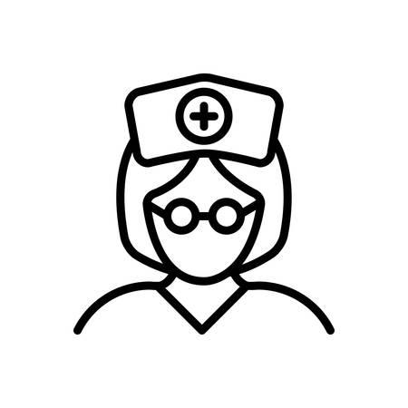 Icon for nurse,sister Фото со стока - 130467623