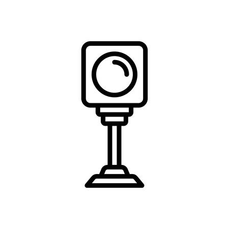 Icon for red, light Stock fotó - 130467679